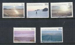 AAT 1987 Antarctic Scenes, 2,10,20,36, 60c FU - Australian Antarctic Territory (AAT)