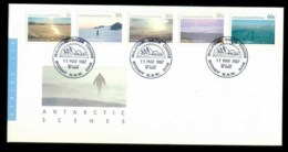 AAT 1987 Antarctic Scenes, Sydney Philatelic FDC Lot79854 - Australian Antarctic Territory (AAT)