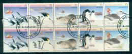 AAT 1988 Environment Wildlife 2xSrt 5 CTO Lot52228 - Australian Antarctic Territory (AAT)