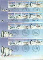 AAT 1988 Environment, Base Set 4x FDC Lot20240 - Australian Antarctic Territory (AAT)