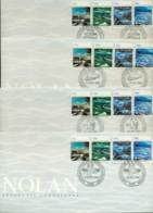AAT 1989 Nolan, Base Set 4x FDC Lot20242 - Australian Antarctic Territory (AAT)