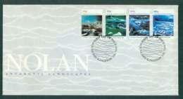 AAT 1990 Antarctic Landscapes Nolan, Kingston FDC Lot51237 - Australian Antarctic Territory (AAT)