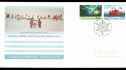 AAT 1991 Treaty, Kingston FDC Lot20249 - Australian Antarctic Territory (AAT)