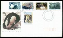 AAT 1992 Wildlife, Kingston FDC Lot20250 - Australian Antarctic Territory (AAT)