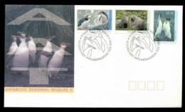 AAT 1993 Regional Wildlife II Kingston Tas FDC Lot28085 - Australian Antarctic Territory (AAT)