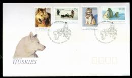 AAT 1994 Huskies, Kingston Tas FDC Lot20254 - Otros
