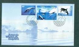 AAT 1995 Whales & Dolphins, Kingston FDC Lot51236 - Australian Antarctic Territory (AAT)