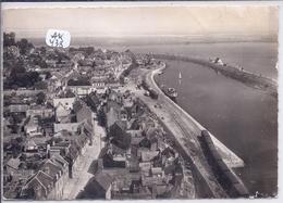 SAINT-VALERY-SUR-SOMME- VUE AERIENNE SUR LE PORT- LA LIGNE DE CHEMIN DE FER - Saint Valery Sur Somme