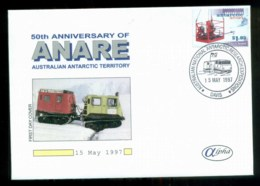 AAT 1997 ANARE, Davis, Alpha $1.05 FDC Lot79866 - Other