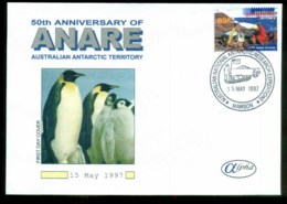 AAT 1997 ANARE, Mawson, Alpha 95c FDC Lot79865 - Australian Antarctic Territory (AAT)