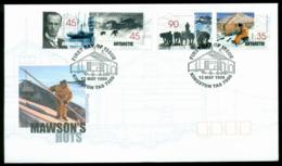 AAT 1999 Mawsons Huts, Kingston FDC Lot20260 - Australian Antarctic Territory (AAT)