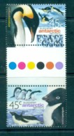 AAT 2000 Penguins Gutter Pr MUH Lot79070 - Australian Antarctic Territory (AAT)