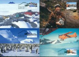 AAT 2004 Mawson Station 5xMaxicards - Australian Antarctic Territory (AAT)