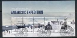 AAT 2012 Centenary Of Australasian Antarctic Expedition MS FU - Australian Antarctic Territory (AAT)
