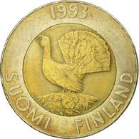 Monnaie, Finlande, 10 Markkaa, 1993, TB+, Bi-Metallic, KM:77 - Finland