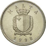 Monnaie, Malte, 10 Cents, 1998, TTB+, Copper-nickel, KM:96 - Malta