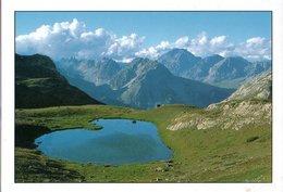 Vallée De La Clarée Lac De La Borie 2001 Pliure CPM Ou CPSM - France