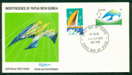 Australia 1975 PNG FDC Lot20012 - 1966-79 Elizabeth II