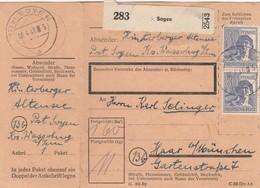 BiZone Paketkarte 1948: Soyen Nach Haar München - Gemeinschaftsausgaben