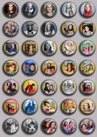 SHEILA Music Fan ART BADGE BUTTON PIN SET 11 (1inch/25mm Diameter) 35 DIFF - Musique