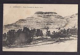 CPA LESOTHO - LESSOUTO - MORIJA - Ecole Normale De Morija ( Hiver ) Très Jolie Vue Générale De L'Etablissement 1916 - Lesotho