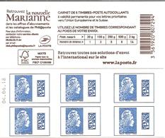 Carnet Yseult Yz   Lettre Europe  La Nouvelle Marianne   Europe      Date En Haut - Carnets