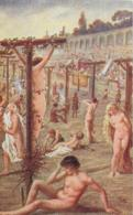 AK 0041  Sienkiewicz , H. - Quo Vadis ? / Das Martyrium Der Christen Im Zirkus Des Nero Ca. Um 1920 - Peintures & Tableaux