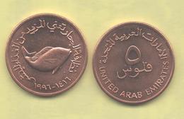 EMIRATOS ARABES UNIDOS - 5 Fils 1996 SC - Emiratos Arabes