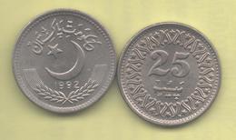 PAKISTAN - 25 Paisa 1992 SC KM58 - Pakistán