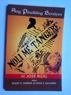Noli Me Tangere By Jose Rizal - Novels