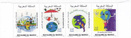 Morocco New Issue 2018, SMILE FORN EARTH ,strip Of 4 Stamps MNH - Complete Set - SKRILL PAYMENT ONLY - Morocco (1956-...)