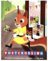 (650) Cartoon Squirrel - Ecureuil - Postcrossing Finland - Autres