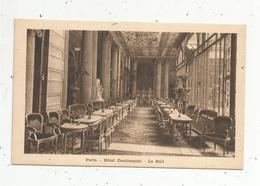 Cp, Hôtel & Restaurants, 75, Paris , Hôtel CONTINENTAL , Lehall ,  Vierge,ed. Breger - Hotels & Restaurants