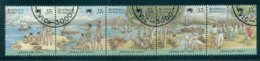 Australia 1988 First Fleet Arrival Str 5 CTO Lot52213 - Used Stamps