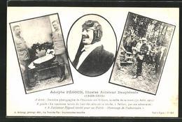 AK Adolphe Pégoud, Illustre Aviateur Dauphinois, Flugzeug - Avions