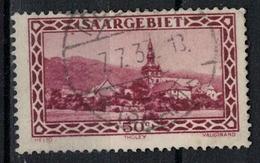 SARRE         N°  YVERT   113  ( 2 )   OBLITERE       ( O   2/32 ) - 1920-35 Saargebiet – Abstimmungsgebiet