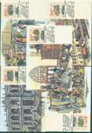 Australia 1990 Boomtime Maximum Cards (5) Lot49177 - 1990-99 Elizabeth II