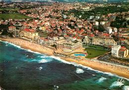 13323837 Biarritz_Pyrenees_Atlantiques Vue Generale Aerienne La Plage De L'Hotel - Frankrijk