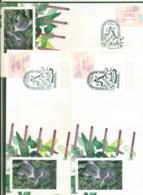 Australia 1991 Queensland Stamp Show FRAMA 3xFDC Lot52376 - 1990-99 Elizabeth II