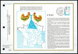 """Y/T N° 2125 Sur  1 FDC Gd Format - Oblit.1 Ier J. """"CHÂTEAUNEUF LES MARTIGUES - 14/3/1981"""" - L'EAU. - 1980-1989"""