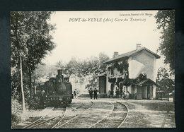 CPM - 01 - PONT DE VEYLE - GARE DU TRAMWAY (REPRODUCTION ) - - Other Municipalities