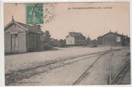 35-  200381   -  SAINT  AUBIN  Du  CORMIER  -  La Gare -  1908 - France