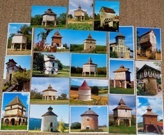 """Lot De 20 CPM """"En Parcourant Nos Campagnes"""" :  PIGEONNIER Du SUD-OUEST - Bâtiments & Architecture"""