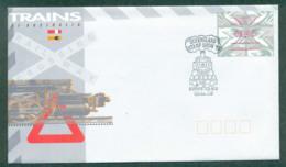 Australia 1993 Queensland Stamp Show, Trains FDC Lot52444 - 1990-99 Elizabeth II