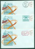 Australia 1994 AEROPEX 94, National Aero/Astro Exhibition, Adelaide 4x FDC Lot52479 - 1990-99 Elizabeth II