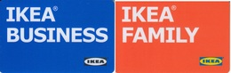Gift Card Italy Ikea Family & Business - Cartes Cadeaux