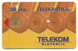 Slovenia - Tessera Telefonica Da 100 Units T568, - Telefoni