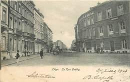 LIEGE - La Rue Gétry.Drperies L Paquay. - Liege