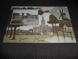 Ypres Ieper  Passchendaele Passendale Dixmude Diksmuide Molen - Groeten Uit De Yser - Streek  - Oorlogskaart Oorlog - Belgique