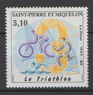 """Saint Pierre Et Miquelon 1994 :   N° 610   """"Le Triathlon"""" -  Neuf ** - - St.Pierre & Miquelon"""